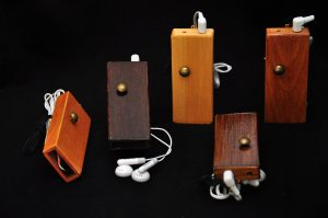 Personal Sound Emitters by Darsha Hewitt